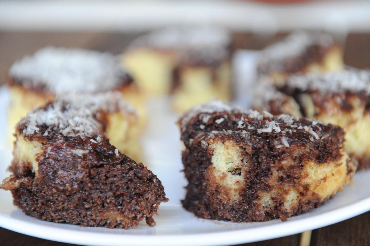 Шоколадовият кекс на баба