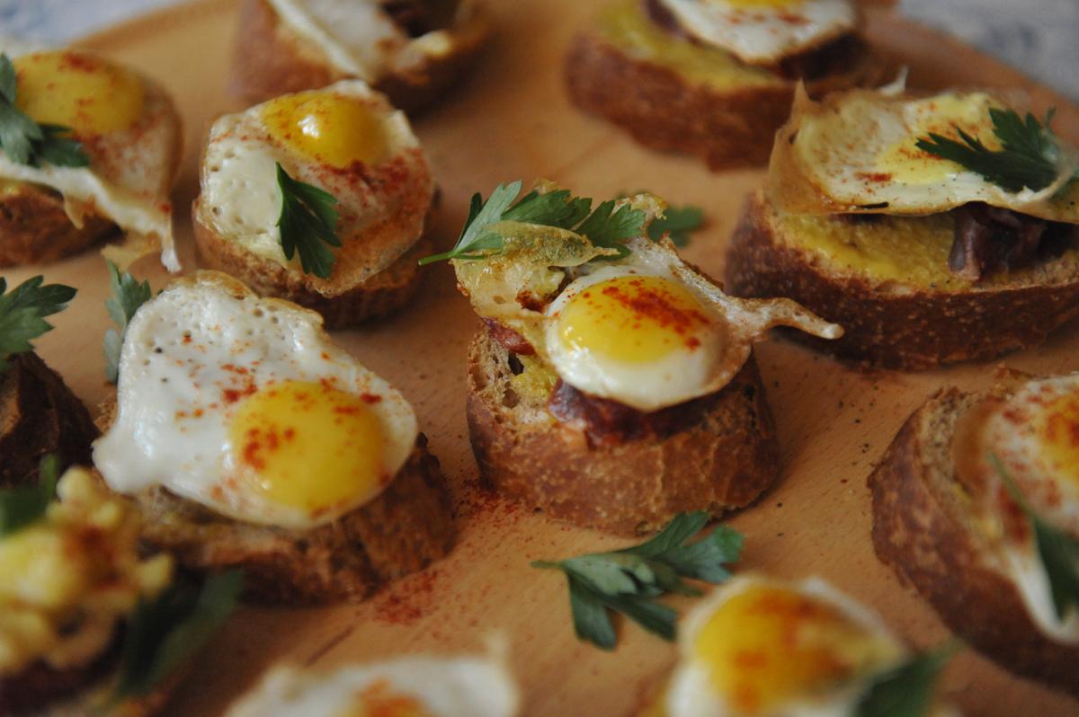 Пъдпъдъчени яйца