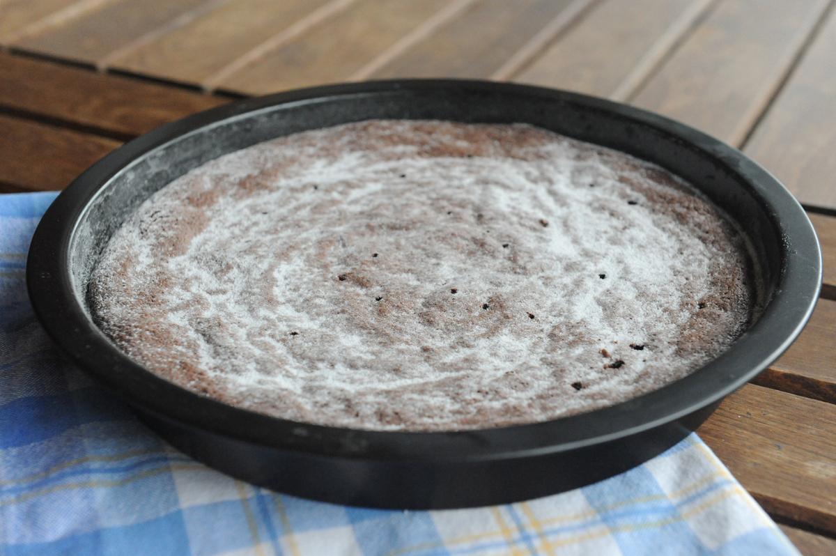 Шоколадов кекс с портокал