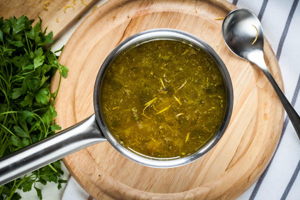 Супа с магданоз и нахут