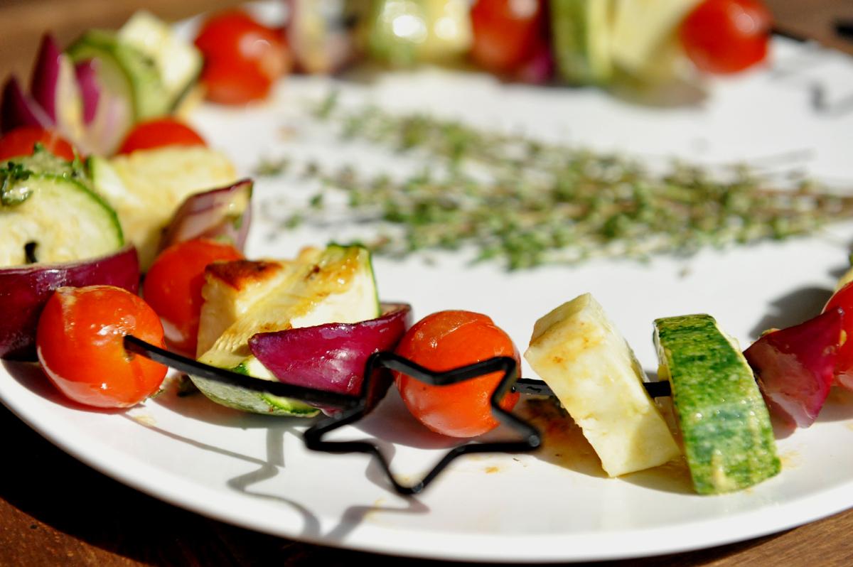 Зеленчукови шишчета