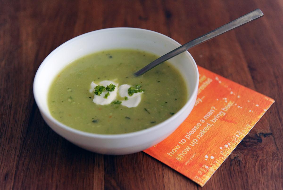 Супа от авокадо с лайм
