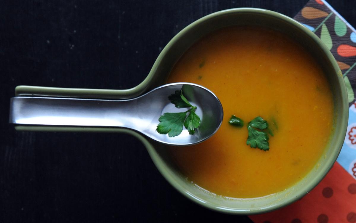 Супа с моркови и портокал