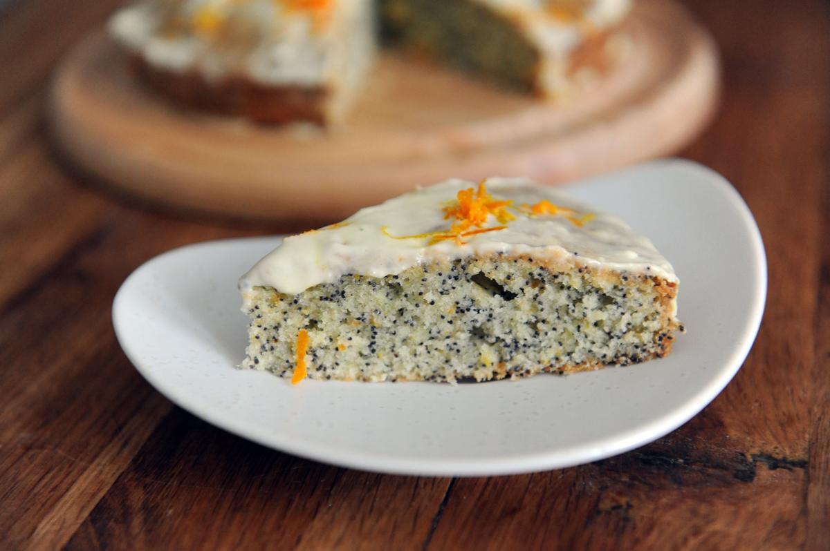 Лимонов-портокало кекс с маково семе