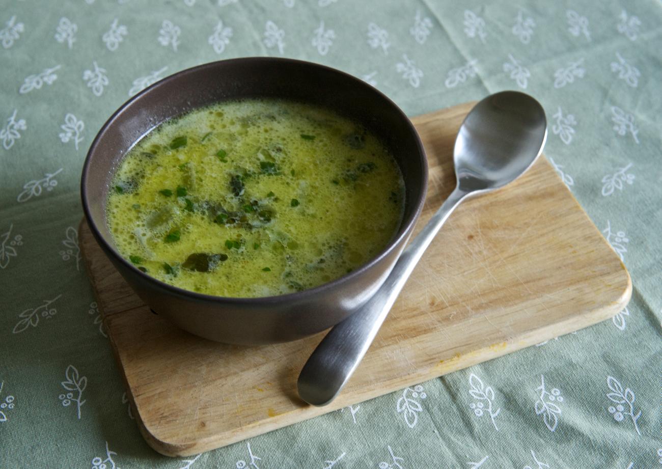 Супа от тиквички и пармезан