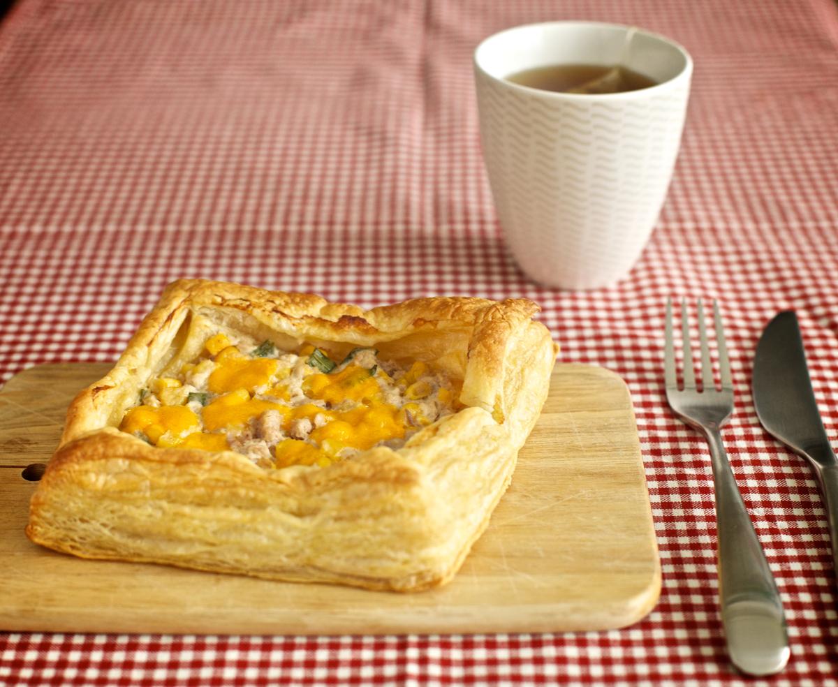 Закуска с риба тон и царевица