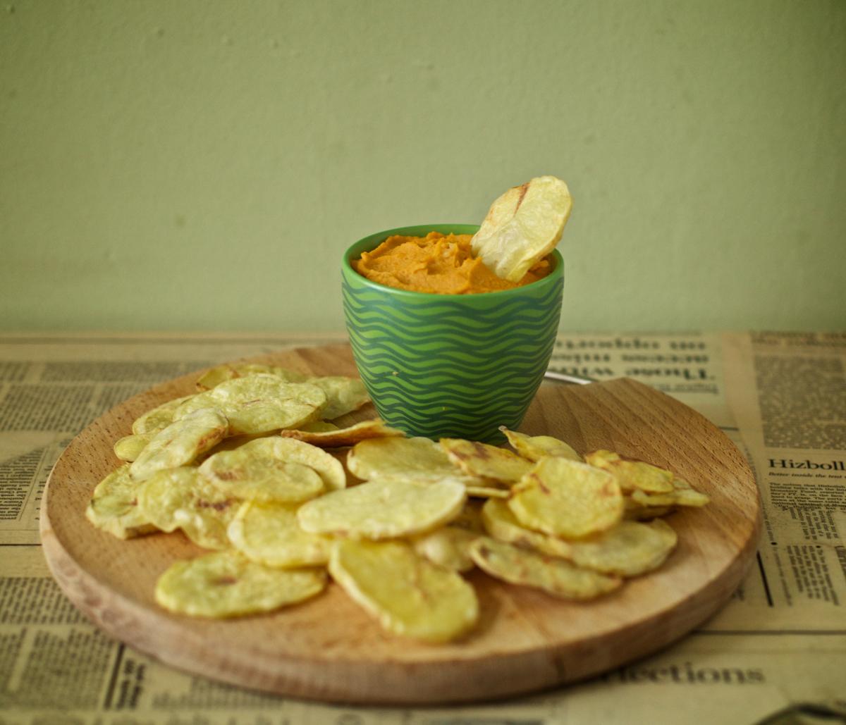 Хумус от сладки картофи