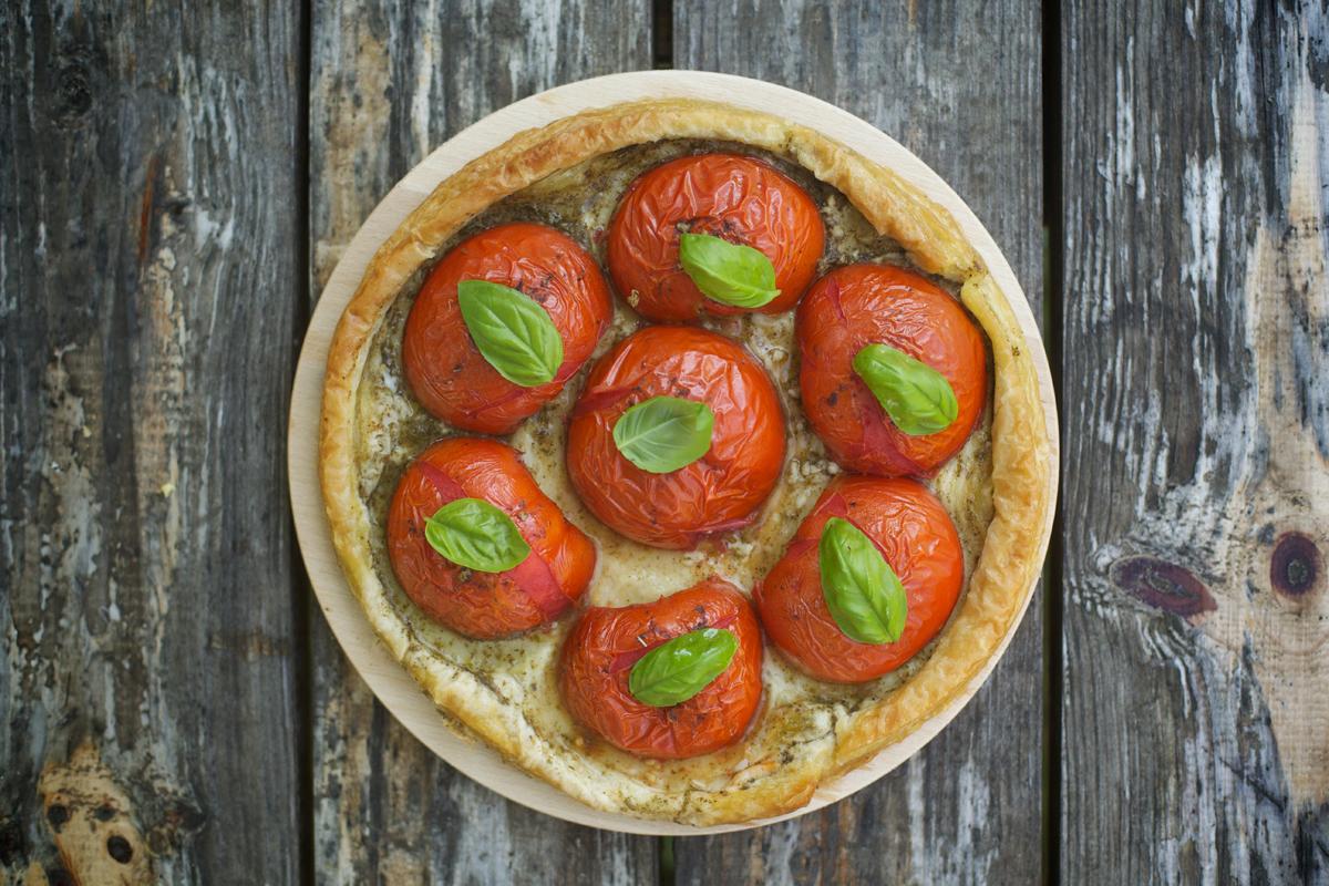 Тарта с домати
