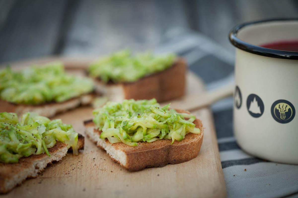 Сандвичи с тиквички