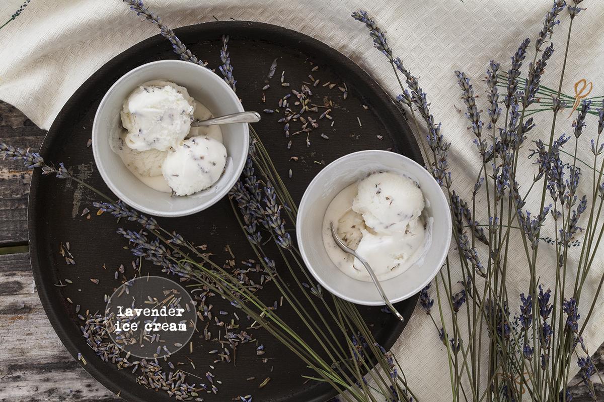 Сладолед с лавандула и мед